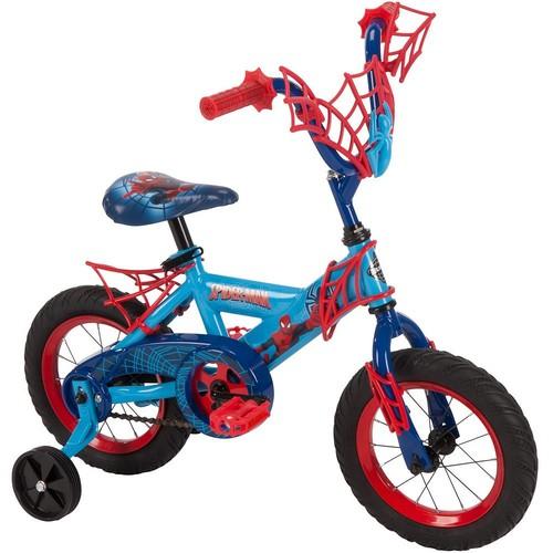 Youth Huffy Marvel Spider-Man12-Inch Bike with WebTrap Handlebar Plaque