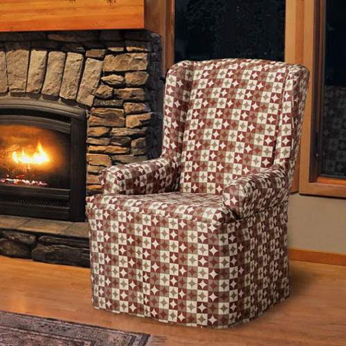 Ayla Wing Chair Slipcover