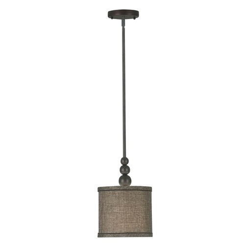 Kenroy Home Margot 1-Light Mini Pendant (Oil Rubbed Bronze)