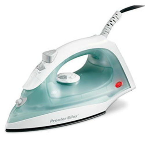 Proctor Silex 17291Y NonStick Steam Iron with Temperature Dial, Lightweight
