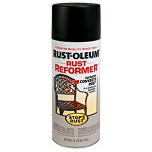 Rust-Oleum 215215 Stops Rust Rust Reformer Rust Reformer 10.25-Ounce Spray-Color Black [1]