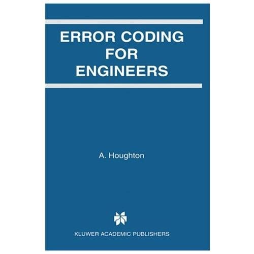 Error Coding for Engineers