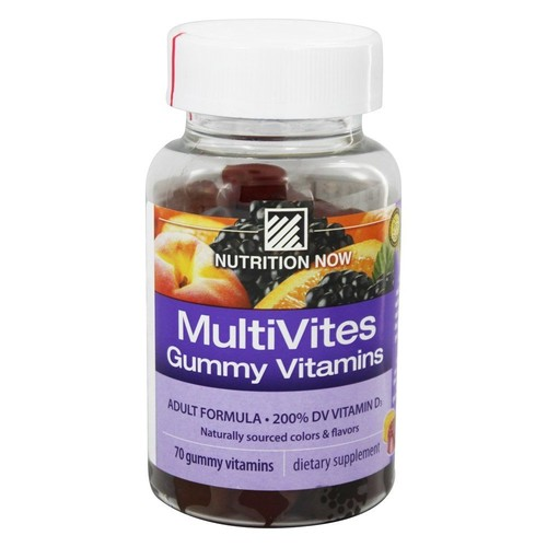 Nutrition Now - Multi Vites Gummy Vitamins for Adults - 70 Gummies