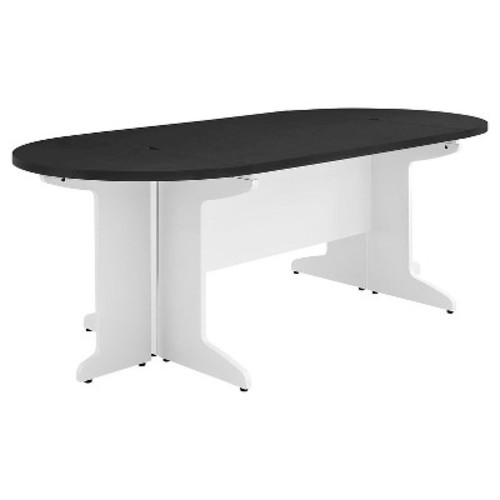 Dorel Pursuit White/Gray Small Conference Table