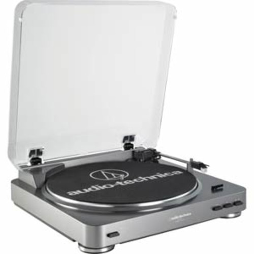 Audio -Technica Fully Automatic Belt- Drive Stereo Turntable - USB & Analog