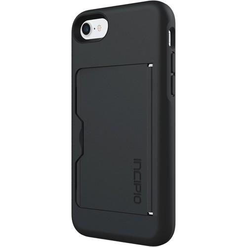 Incipio - STOWAWAY Case for Apple iPhone 7 - Black