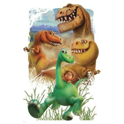 RoomMates 2.5 in. W x 27 in. H The Good Dinosaur Gang Peel and Stick Giant Wall Decal