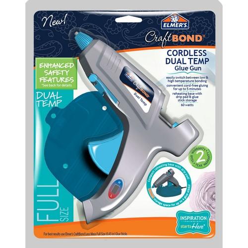 Elmer's CraftBond Cordless Dual-Temp Glue Gun