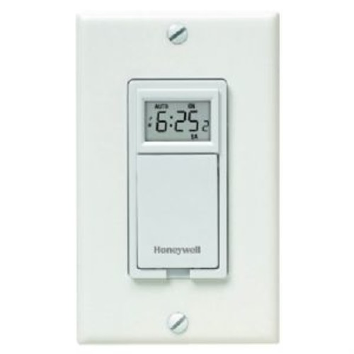 Honeywell 7-Day Programmable Timer for Lights (RPLS530A1038/U)