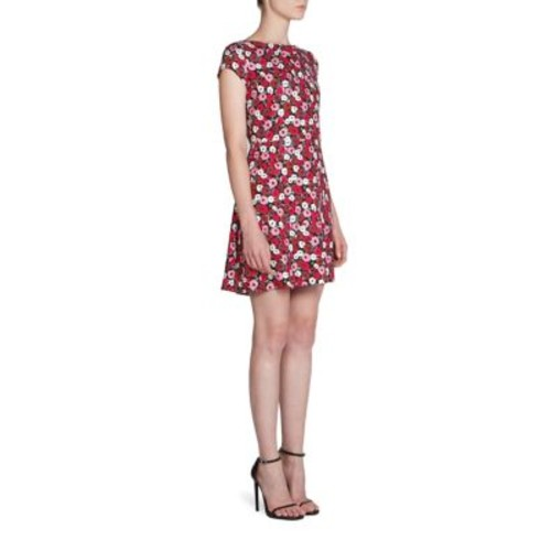 SAINT LAURENT Poppy Printed Dress
