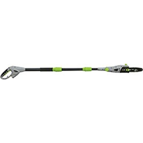 Earthwise PS43008 8-Inch 6-Amp Corded Electric Telescopic Pole Saw with 3-Position Head [Black]