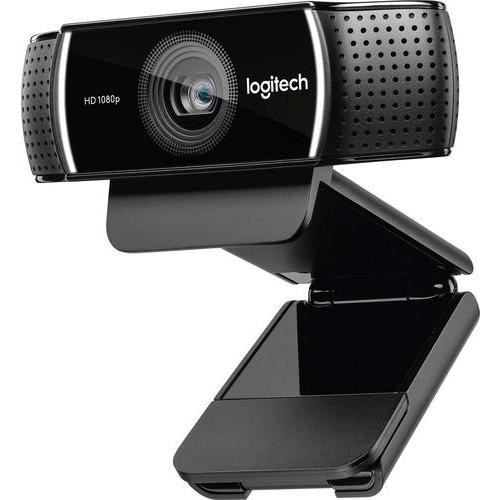Logitech - 1080P Pro Stream Webcam - Black