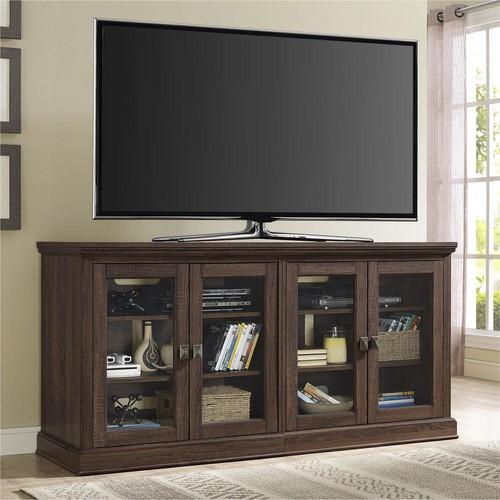 Altra Furniture Bennet Medium Oak Entertainment Center