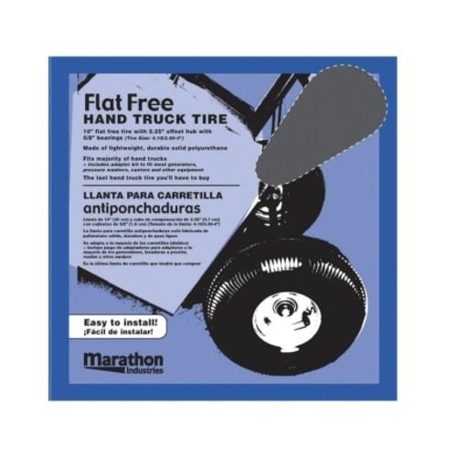 Marathon Hand Truck Tire 10.3 in. Dia. 300 lb.(00210)