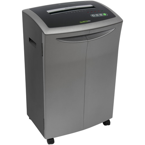 GoECOlife GXC140Ti Platinum Series Crosscut Office Shredder, 14-Sheet Capacity