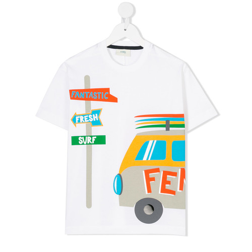 trip print T-shirt