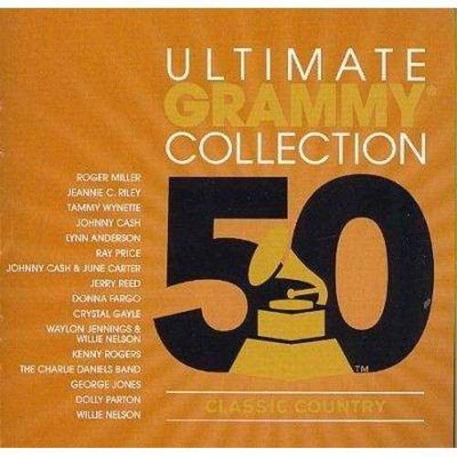 Various - Ultimate grammy:Classic country (CD)