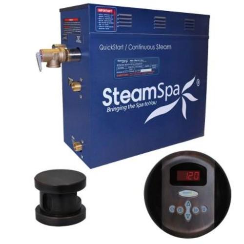 SteamSpa Oasis 6kW Steam Bath Generator Package in Oil Rubbed Bronze