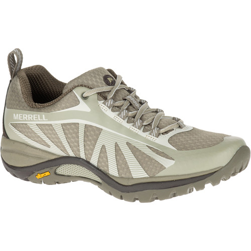 MERRELL Women's Siren Edge Hiking Shoes, Aluminum