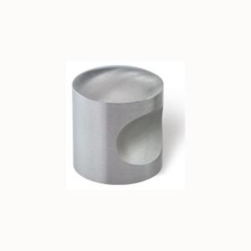Siro Designs 1-3/16 in. Fine Brushed Stainless Steel Cabinet Knob