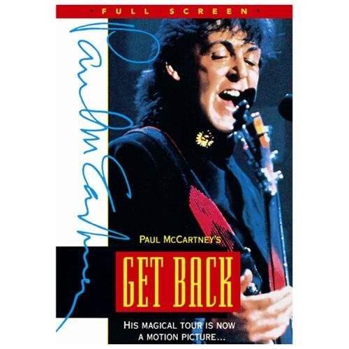 McCartney P-Get Back World Tour Movie