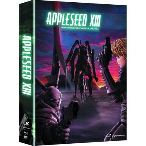 Appleseed XIII: The Complete Series [4 Discs] [Blu-ray/DVD]