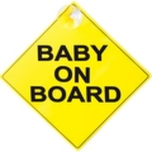 Child Safe Baby On Board Sign