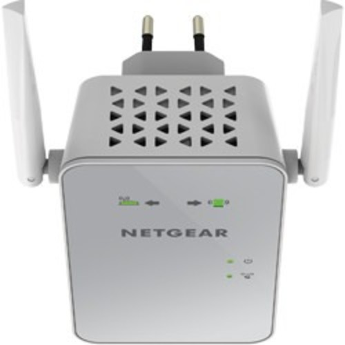 Netgear Wireless AC1200 Dual-Band Wi-Fi Range Extender, EX6150, White