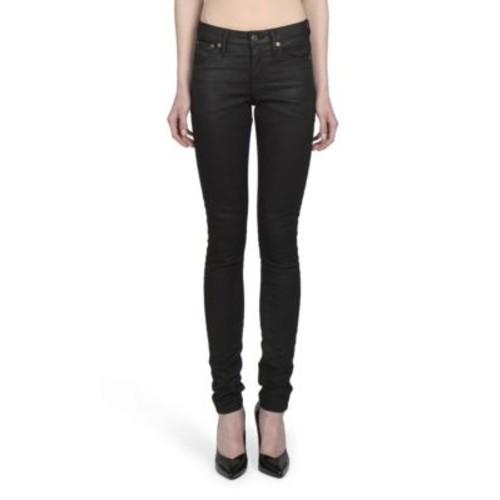 SAINT LAURENT Tapered Solid Pants