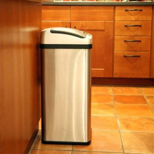 iTouchless 13 Gallon Extra-Wide Opening Touchless Trash Can RX