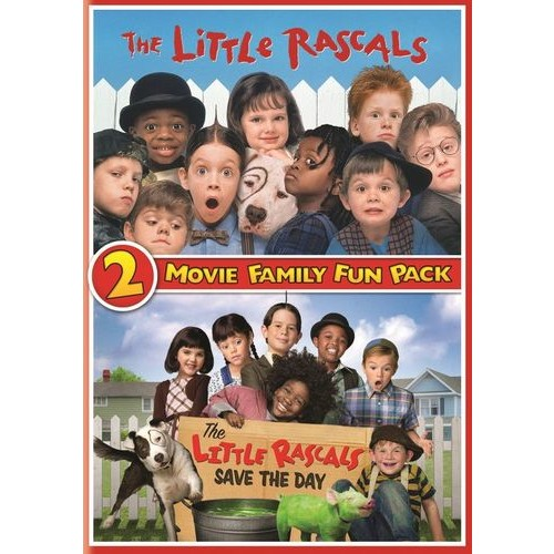 Little Rascals: 2-Movie Family Fun Pack [2 Discs] [DVD]