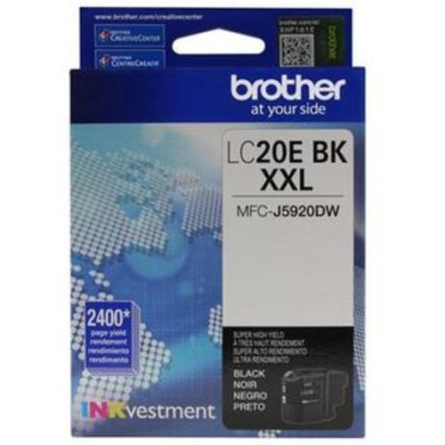 Brother Ultra High Yield Black Ink - LC20EBK