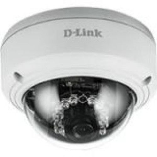 D-Link DCS-4603 Full HD PoE Dome Camera - Network surveillance camera - pan / tilt - color (Day&Night) - 3 MP - 1920 x 1080 - 1080p - LAN 10/100 - MJPEG, H.264 - DC 12 V