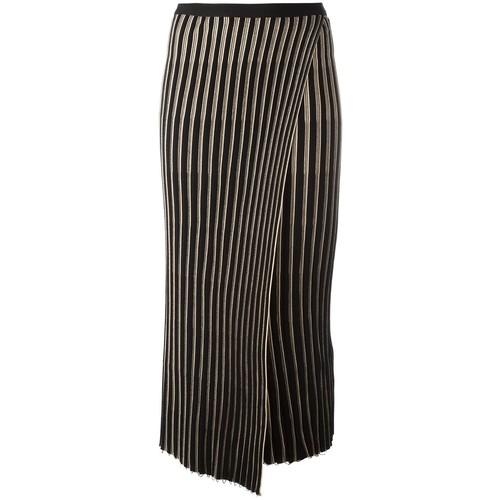 HELMUT LANG Knitted Pleated Skirt