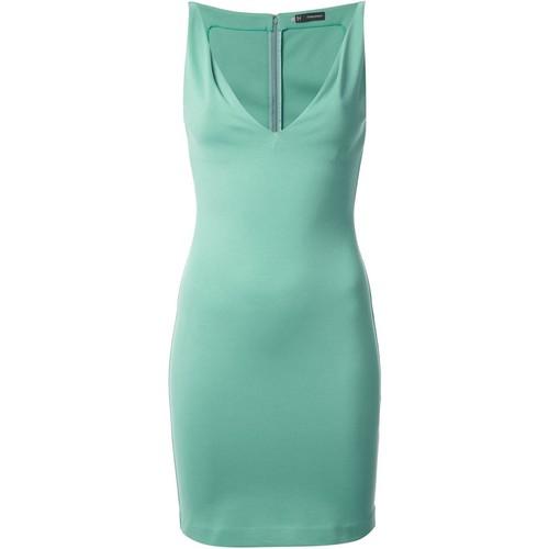DSQUARED2 Fitted V-Neck Dress