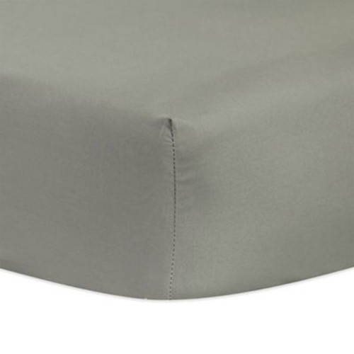 Trend Lab Neutral Fitted Crib Sheet in Grey
