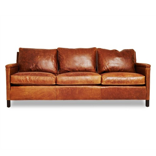Irving Place Heston Leather Sofa
