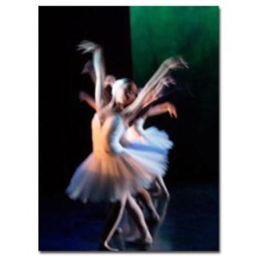 Trademark Fine Art 18 in. x 24 in. Abstract Dancers Canvas Art