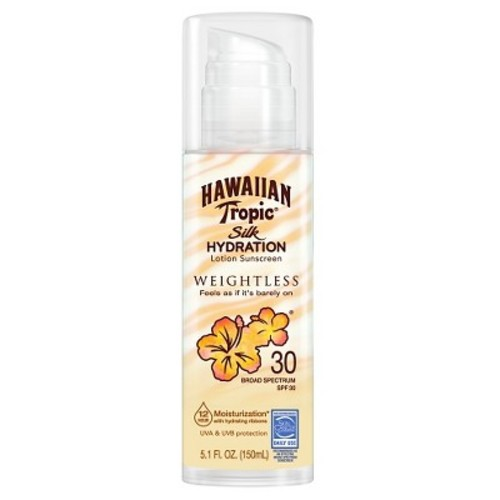 Hawaiian Tropic Silk Hydration Lotion Sunscreen - SPF 30 - 5.1 fl oz