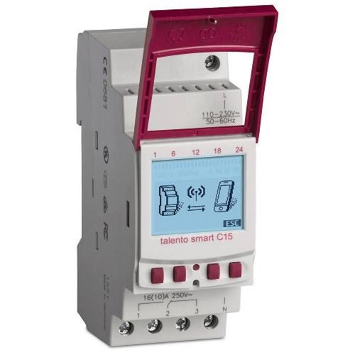 Grasslin Talento Smart 15 Amp 365-Day 2-Circuit 500-Event Industrial Timer Switch