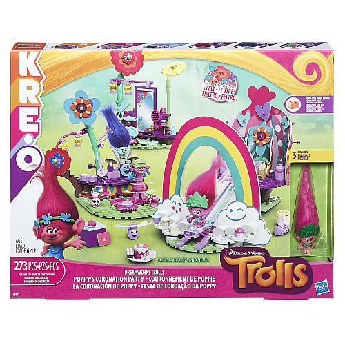 DreamWorks Trolls Poppy's Coronation Party - 273 Pieces