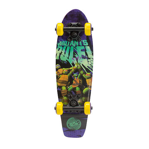 PlayWheels Teenage Mutant Ninja Turtles 21 inch Skateboard - Mutants Rule