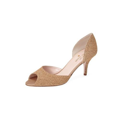 Kate Spade New York Glitter Cork Heel