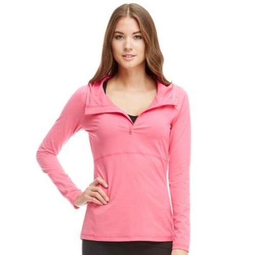 Women's Balance Collection Pieced Hooded Quarter-Zip Hiking Top
