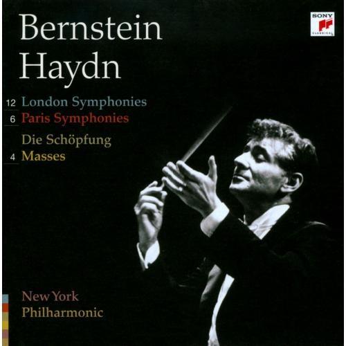 Haydn: 12 London Symphonies; 6 Paris Symphonies; Die Schpfung; 4 Masses [CD]