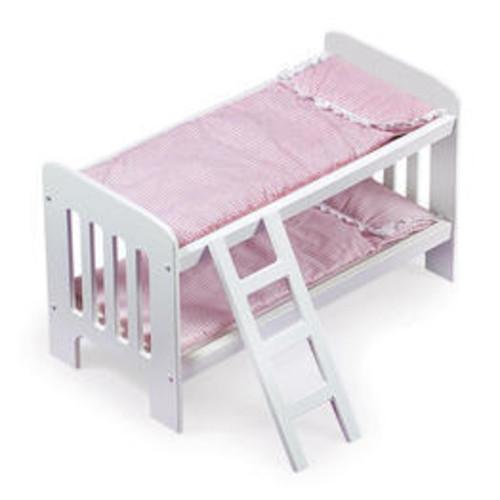 Badger Basket Doll Bunk Beds With Ladder-01855