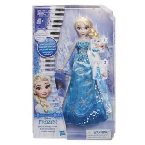 Hasbro,Disney Disney Frozen Play-a-Melody Gown Doll - Elsa