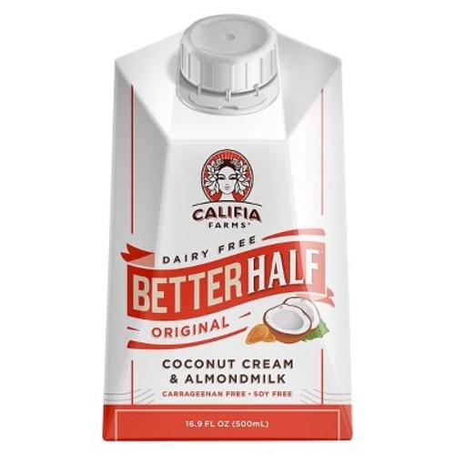 Califia Farms Dairy Free Better Half Original Coconut Cream & Almond Milk 16.9 oz