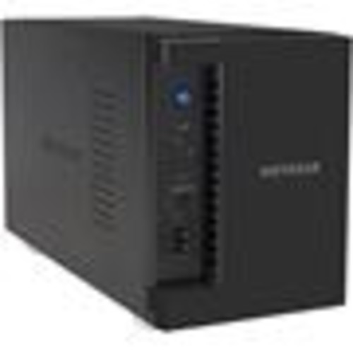Netgear RS212 Network Attached Storage Secure storage and media streaming file server