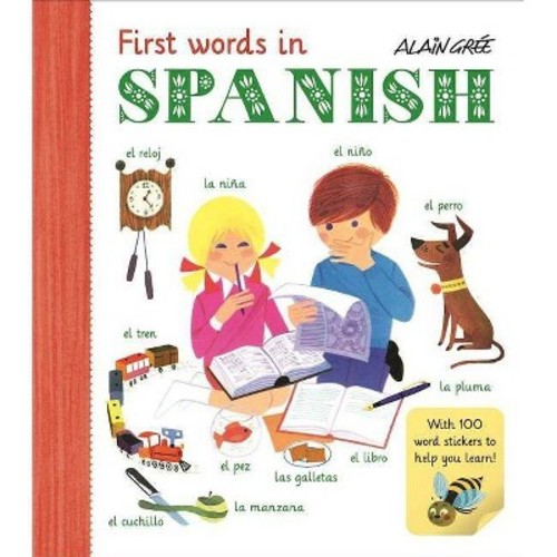 First Spanish Words (Paperback)